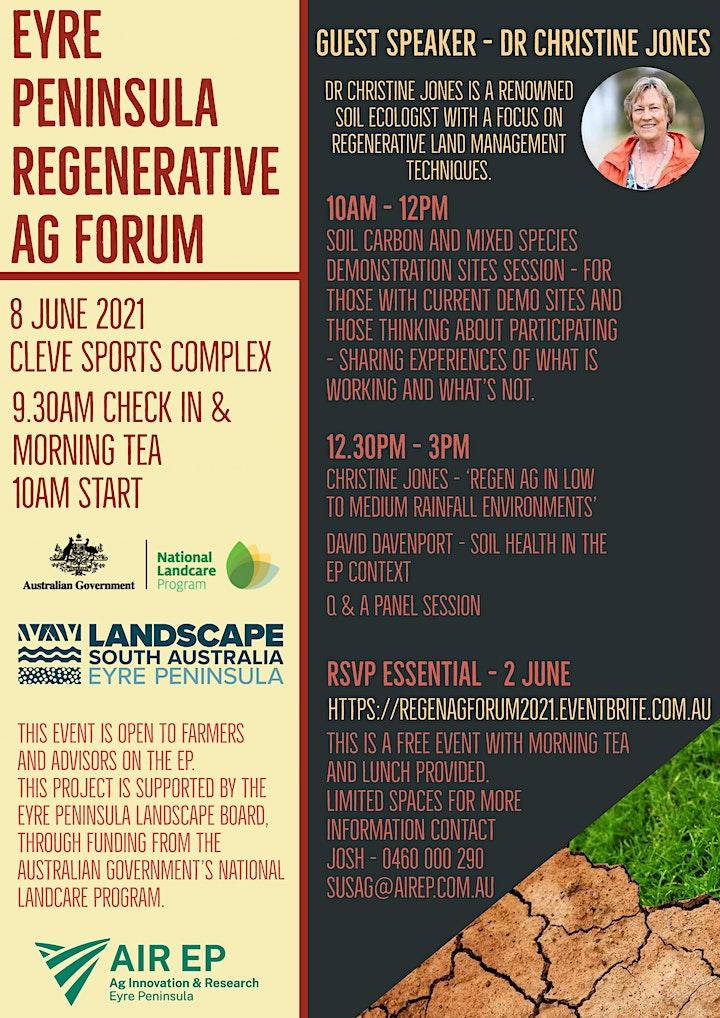 Eyre Peninsula Regenerative Ag Forum image