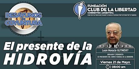 CLUB DE LA LIBERTAD - DESAYUNO DE COYUNTURA - EL PRESENTE DE LA HIDROVÍA entradas