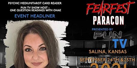 Onae's Psychic Medium Gallery FearFest 2021 tickets
