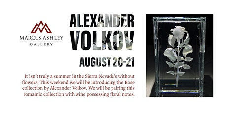 Alexander Volkov~Meet the Artist~ August 20th & 21st tickets