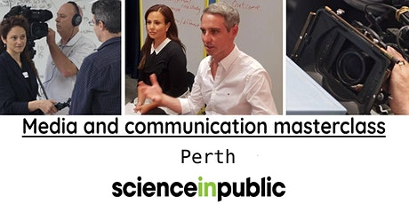 Media and communication masterclass (August - Perth) tickets