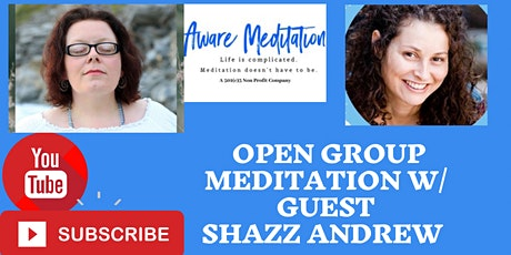 Open Group Meditation w/Interview with Meditation Teachers tickets