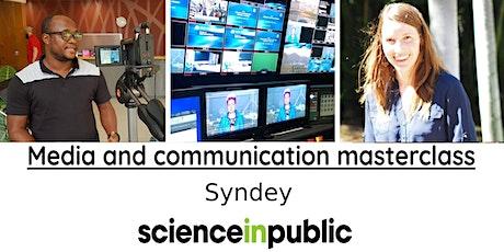 Media and communication masterclass (September - Sydney) tickets