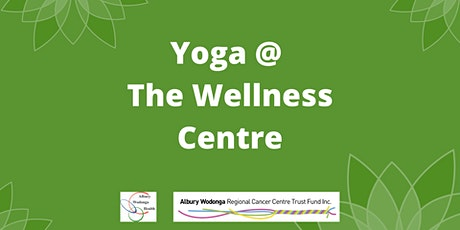 Yoga at the Wellness Centre tickets