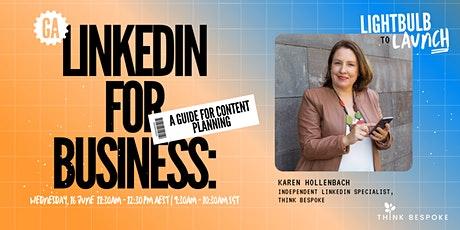 LinkedIn for Business: A Guide for Content Planning tickets