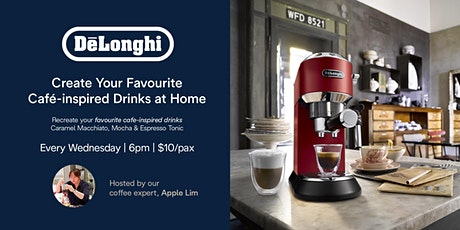 Coffee Event with De'Longhi - Create café-inspired coffee drinks tickets