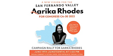 Aarika for Congress Campaign Rally tickets