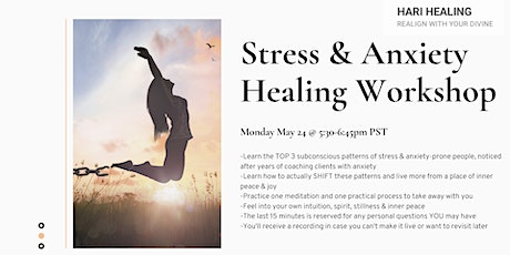 Stress & Anxiety Healing Workshop tickets