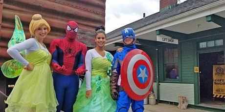 Princess & Superhero Train Rides tickets