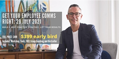 COMMS WORKSHOP Get your employee comms right tickets