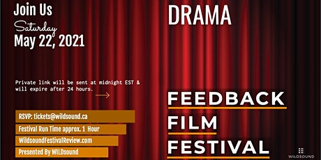 DRAMA Short Film Festival - Stream for FREE all day this Saturday. tickets