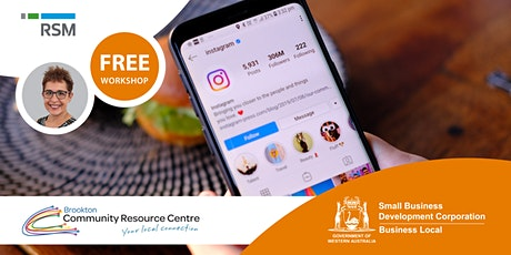 Instagram Essentials for Small Business (Brookton) tickets