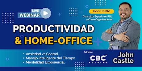 ESTRATEGIAS DE PRODUCTIVIDAD Y HOME OFFICE 2021 entradas