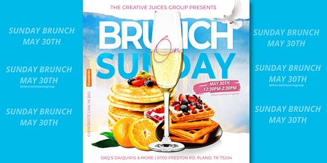The Creative Juices Group - Brunch On Sunday tickets