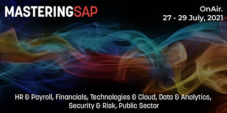 Mastering SAP OnAir 2021 tickets