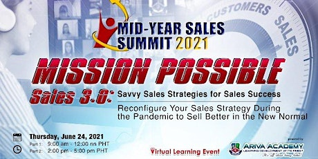 Mid-Year Sales Summit 2021 presents MISSION POSSIBLE tickets