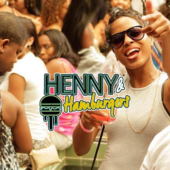HENNY & HAMBURGERS 2021: The Ultimate Food Festival w/ A Twist (Detroit) image