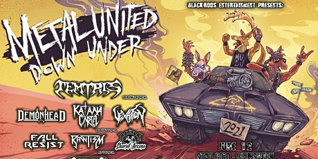 METAL UNITED DOWN UNDER – Melbourne tickets