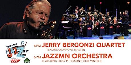 TCJF - JazzMN Orch w/ Ricky Peterson + Bob Mintzer / Jerry Bergonzi Quartet tickets