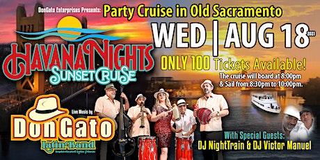 Havana Nights Sunset Cruise tickets