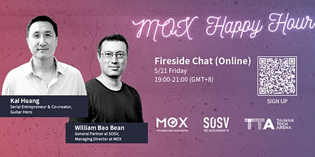 MOX Happy Hour with Kai Huang, co-creator of Guitar Hero. (Virtual Only) tickets