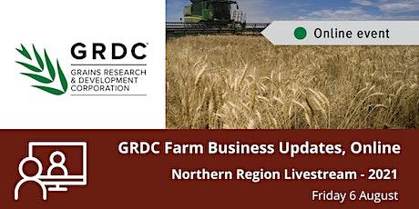 GRDC  North Livestream - 6 August 2021 tickets