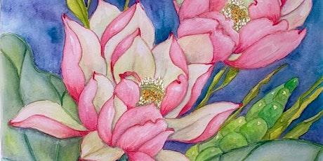 Watercolour Flowers Workshop tickets