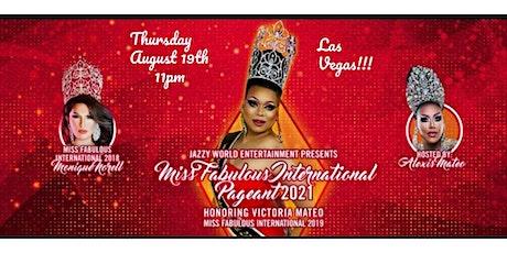 Miss Fabulous International Pageant 2021 tickets