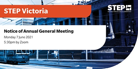 STEP Victoria 2021 Annual General Meeting tickets