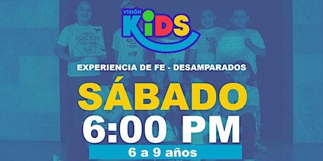 Experiencia de Fe  Kids 6:00pm entradas
