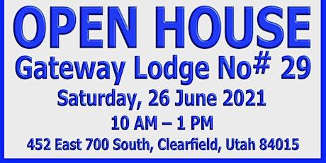 Open House - Gateway Lodge #29 Clearfield, Utah tickets