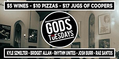 Gods Tuesdays - June 1st tickets