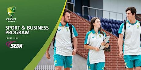 Cricket Australia Sport & Business Program Information Session tickets