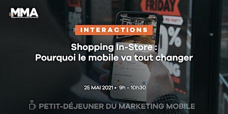 Report : Shopping In-Store : pourquoi le mobile va tout changer billets