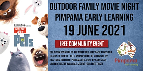 Free Outdoor Family Movie Night Pimpama Early Learning Centre tickets