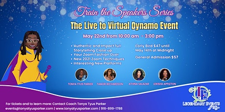 The  Live to Virtual Dynamo tickets