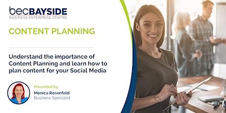 Content Planning for Social Media - Digital Transformation Workshop tickets