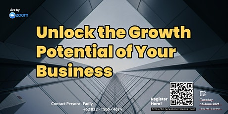 Unlock the Growth Potential of Your Business tickets