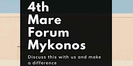 Mare Forum Mykonos 2021 tickets