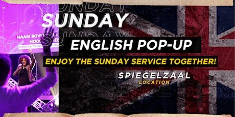 Pop-Up Church English - Sunday 23th May tickets