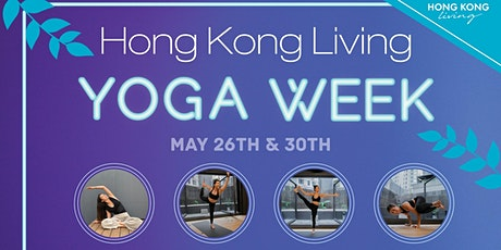 Hong Kong Living Yoga Week tickets