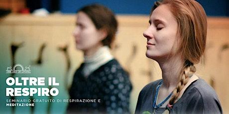Webinar Gratuito di Meditazione e Respirazione biglietti
