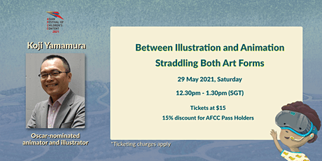 AFCC 2021 Lecture -  Between Illustration and Animation tickets