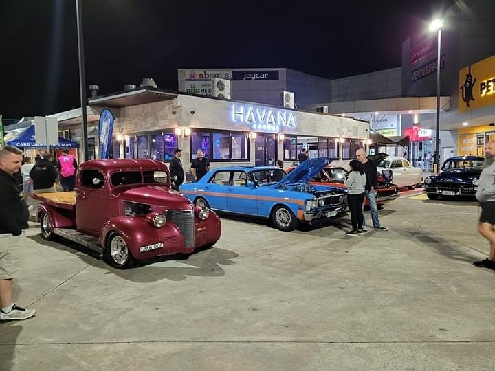 Cars under the stars image