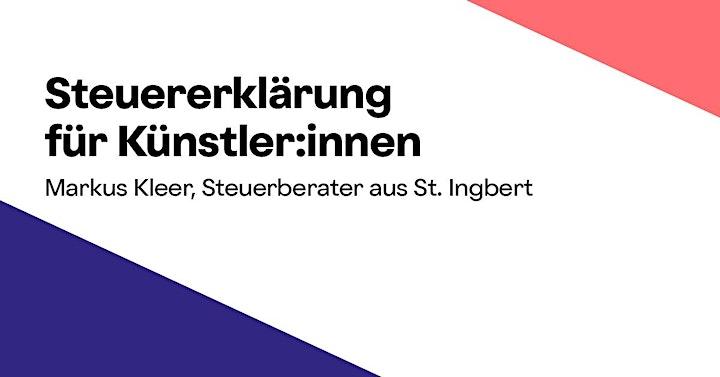 Online-Workshop »Steuererklärung für Künstler:innen«: Bild