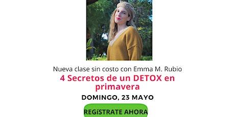 4 Secretos de un DETOX en primavera entradas