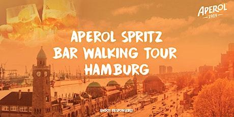 Aperol Spritz Bar Walking Tour Hamburg 2021 billets