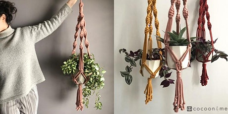 Chunky Cotton and Copper  Macrame Plant Hanger Workshop  - London tickets