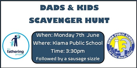 Dads & Kids Scavenger Hunt tickets