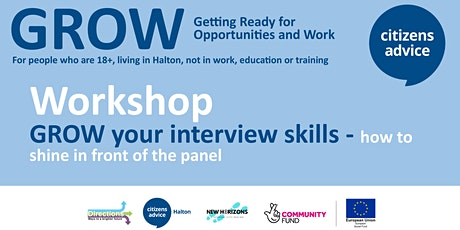 GROW your interview skills - how to shine in front of the panel tickets